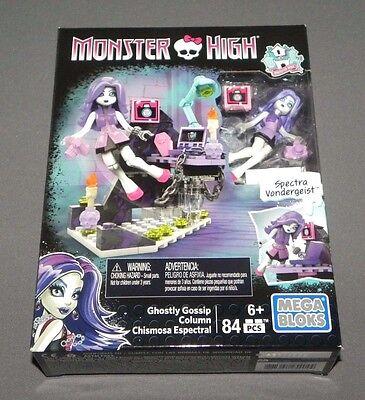 Mega Bloks Spektrum Vondergeist Gespenstische Gossip Säule Spielset - Monster High Gespenster