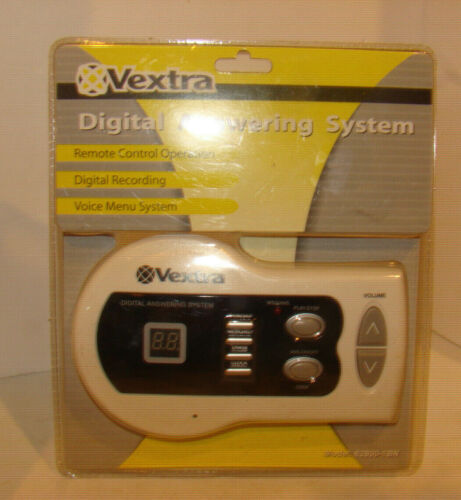 Vextra Digital Telephone Answering System Model 62800-1BN SEALED