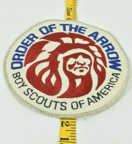 "Order of the Arrow Boy Scouts of America Vintage Logo Jacket 6"" Patch Indigenous"