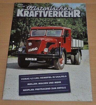 Historischer Kraftverkehr HIK 4/00 Meiller Jehle Neoplan MAN F8 Tempo L311 Vomag