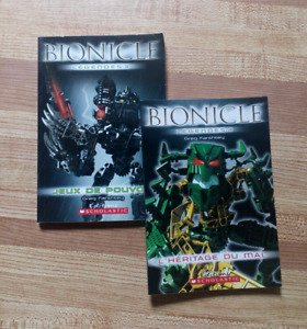 BIONICLE Legends (FRENCH Version) Chapter Books