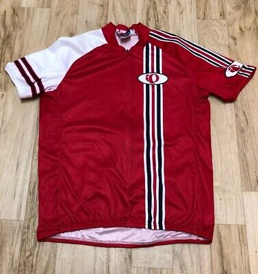 Pearl Izumi Large Red Cycling Jersey (PI Originals) Excellent Condition - Original Cycling Jersey