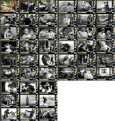 King Kong 1933 movie storyboard trading cards. Fay Wray Horror