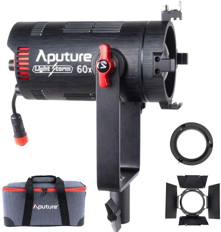 US Aputure LS 60X 60W Bi-Color Adjustable LED Video Light CRI≥95 30000lux @1m