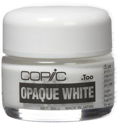 NEW Too Copic Opaque White Pigment 30cc MADE IN JAPAN