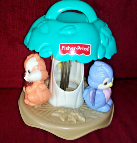 Vtg Fisher Price Precious Planet Chime Ball Forest Friends 1999 Windchime 71263