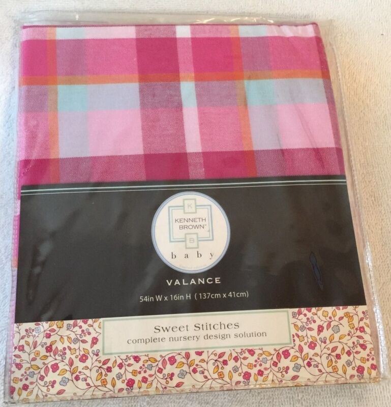Kenneth Brown Baby Sweet Stitches Valance