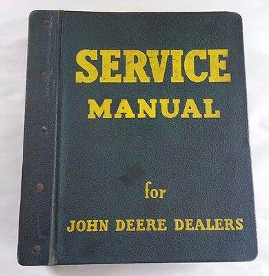 1960s John Deere 2000 Series Service Manual With Vintage Jd Binder
