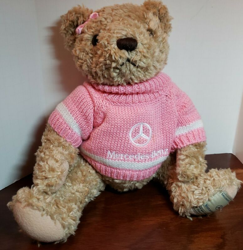 Herrington Teddy Bear Exclusively For Mercedes Benz Plush Pink