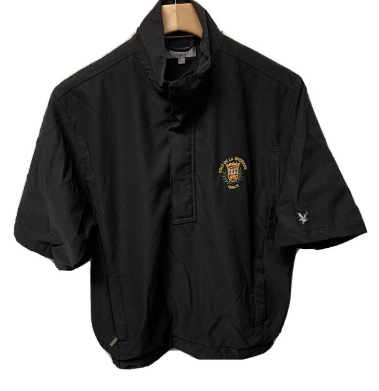 Lyle & Scott Men's Golf 1/2 Zip Short Sleeve Pullover Size Small