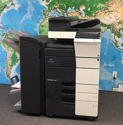 Konica Minolta Bizhub C558 Color Copierprintscan Low Total Meter 266k
