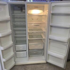 WarrantySide by Side Fridge Freezer Westinghouse L660 good condition