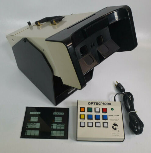 Stereo Optical OPTEC 1000 Vision Eye Tester Screener w/ Keypad, Slide, & Cover