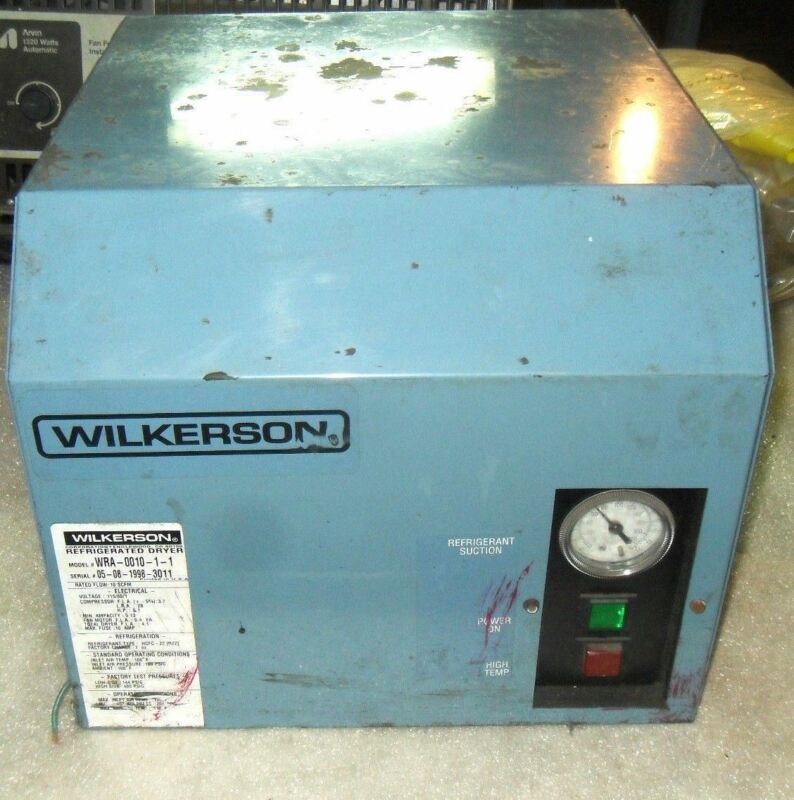 (V16) 1 WILKERSON WRA-0010-1-1 REFRIGERATED DRYER