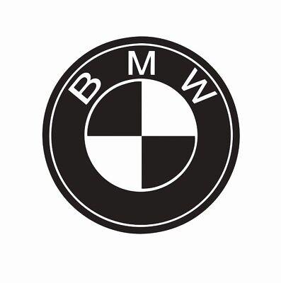 Home Decoration - BMW Logo Vinyl Die Cut Car Decal Sticker - FREE SHIPPING