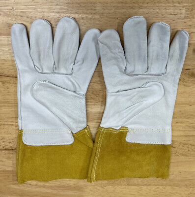 Leather Tig Welding Gloves 4 Cuff 1356l Size Large