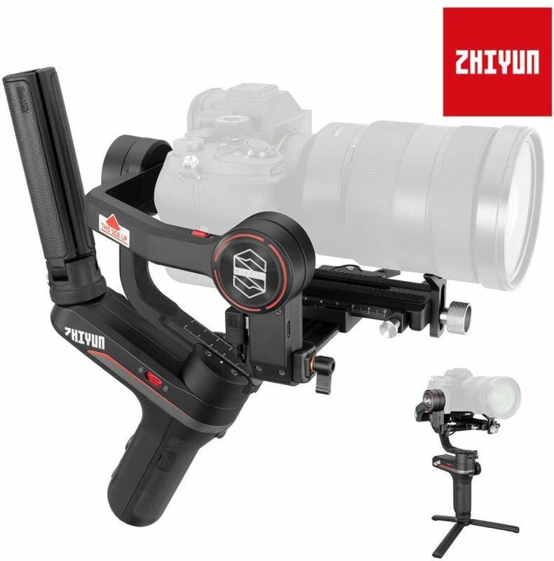 US Zhiyun WEEBILL S Gimbal Handheld Stabilizer For DSLR Mirrorless Cameras Sony