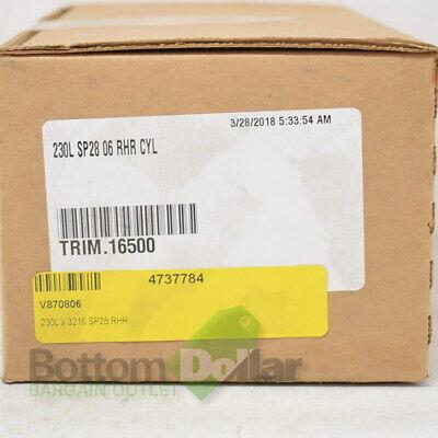Von Duprin 230l 3216 Sp28 06 Rhr Cyl Aluminum Lever Trim With Rim Cylinder