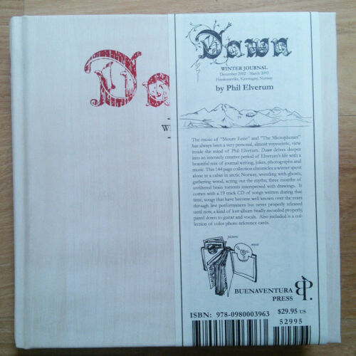 Dawn Winter Journal (The Microphones, Mount Eerie, Phil Elverum) Rare Outofprint