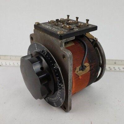 Staco Energy Products 033 3504 Variable Auto Transformer Adjustable Knob Vintage