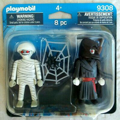 Playmobil,MUMMY & GRIM REAPER,Halloween,Haunted House,Monsters (Mummy Halloween)