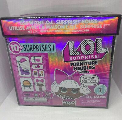LOL Surprise! House Furniture Diva Doll BEAUTY SALON Series 1 Playset New