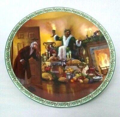 Bradford A Christmas Carol Plate