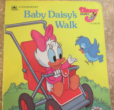 Baby Daisy's Walk Board Book 1986 Baby Daisys Walk