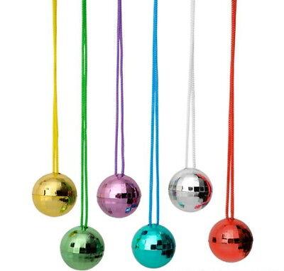 110 Disco Ball Necklaces Style Birthday Party Favor New 4 Dozen Bulk Wholesale