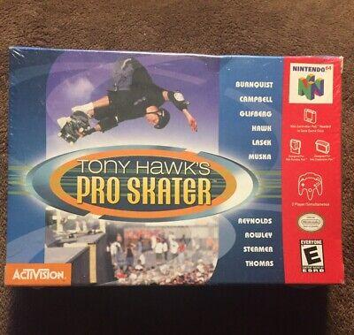 Tony Hawk's Pro Skater (Nintendo 64) BRAND NEW!!  RARE!