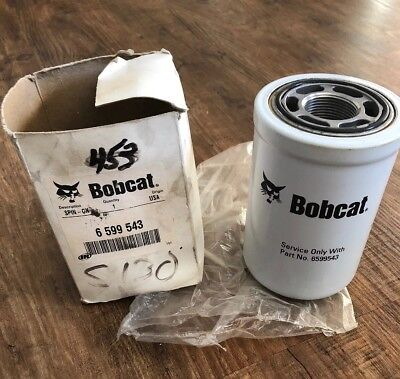 Authentic Bobcat Brand Skid Steer Spin On Oil Filter Part No 6599543