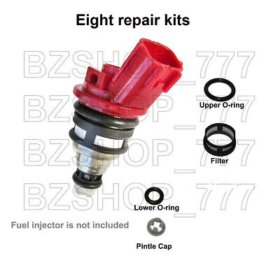 Fuel Injector Repair Kit Filters Seals O-Rings fits Nissan Infiniti 8cl