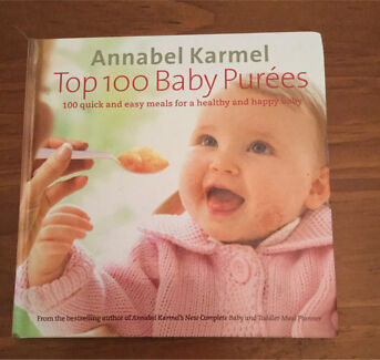 Baby pure food recipe books annabel karmel feeding gumtree baby cookbook top 100 baby purees by annabel karmel forumfinder Image collections