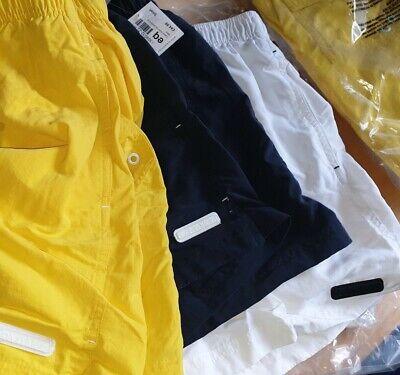 NP49€ org. Calvin Klein Badeshorts Swimwear gelb Gr. L NEU Bade-Schwimmhose