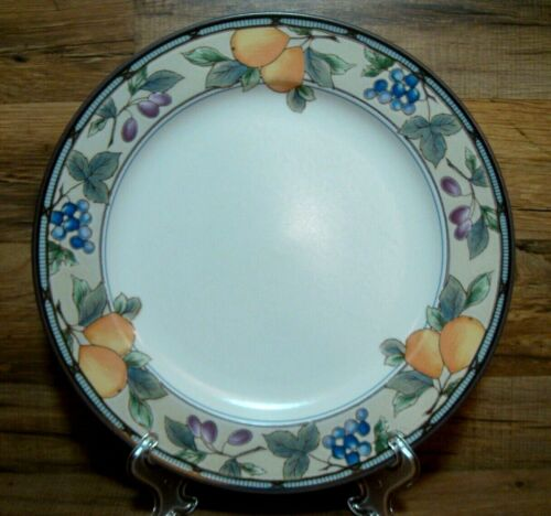 """MIKASA INTAGLIO - GARDEN HARVEST - 11 1/2"""" DINNER PLATES CAC29 - MORE AVAILABLE"""