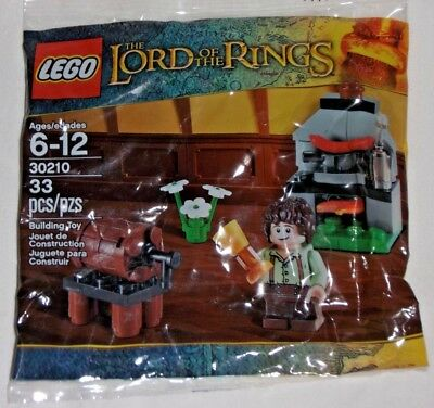 LEGO new sealed PROMO POLY BAG Baggie set 30210 LORD RINGS Frodo Cooking Corner