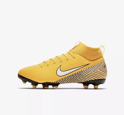 9dc327555 NIKE MERCURIAL SUPERFLY VI FG MG NEYMAR YOUTH SOCCER CLEATS AO2895-710 SIZE  4.5