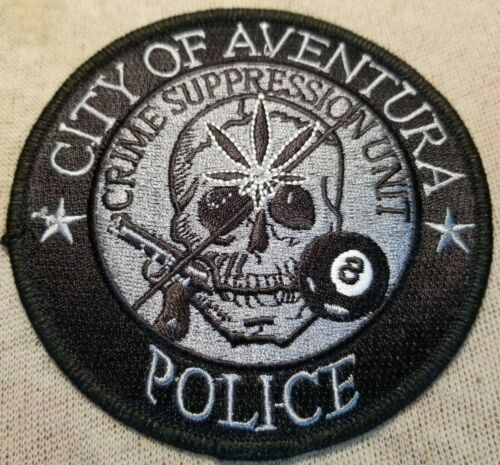 FL City of Aventura Florida Crime Suppression Unit Police Patch