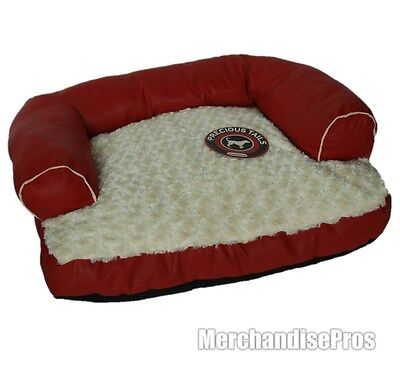 PRECIOUS TAILS MEDIUM SIZE DOG BED WITH REMOVABLE WASHABLE COVER NEW!