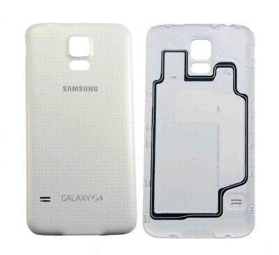 Original Replacement Back Door Battery Cover for Samsung Galaxy S5 SM-G900 White for sale  Shipping to India