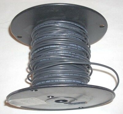 12 Awg Black Insulated Solid Copper Electrical Wire Thwn Or Thhn 3 Lb 10.2 Oz