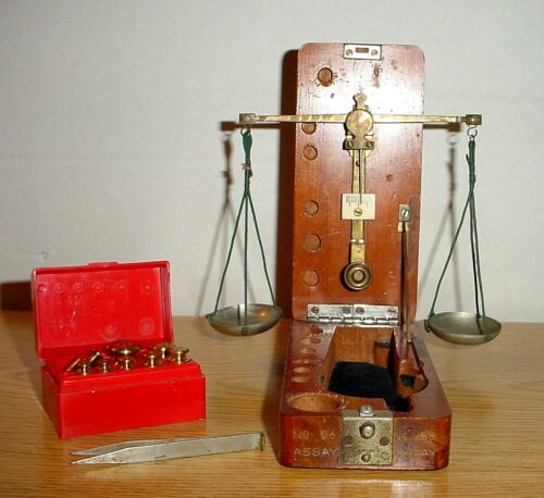 Antique Victorian Jewelry Scale
