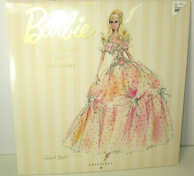 Barbie 16-month calendar Robert Best Silkstone Fashion Model Collection 2014 (Robert Best Barbie Calendar)