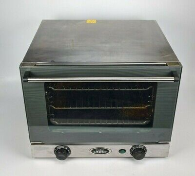 Cadco Unox Xa006 Ov-250 Commercial Electric Convection Oven - Countertop 120v