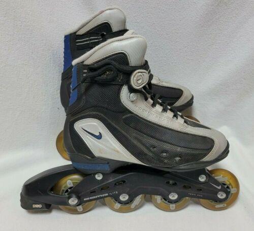 Nike N-Dorfin 5 Inline Skates Rollerblades Men Size 7 Comp Lite Flexposite EUC