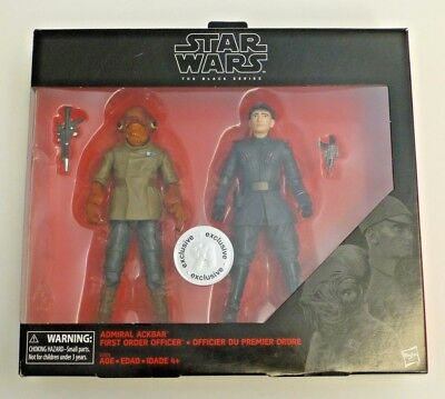 Star Wars The Black Series 6 inch Toys R Us Exclusive - Admiral Ackbar *NEW*