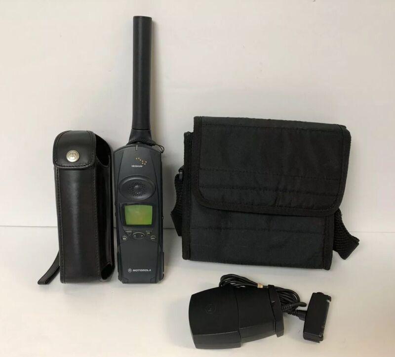 Iridium Motorola 9051 Satellite Phone Kit Set - Never Been Used!!!