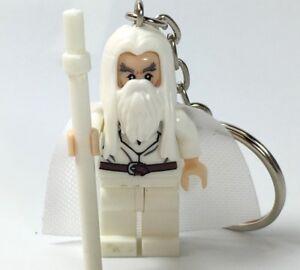 Lord of the Rings Keyring, Gandalf Figure Keyring, Gandalf the White, Xmas Gift