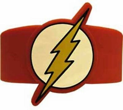 Cheap Silicone Wristbands (Flash Lightning Bolt Logo Silicone Bracelet)
