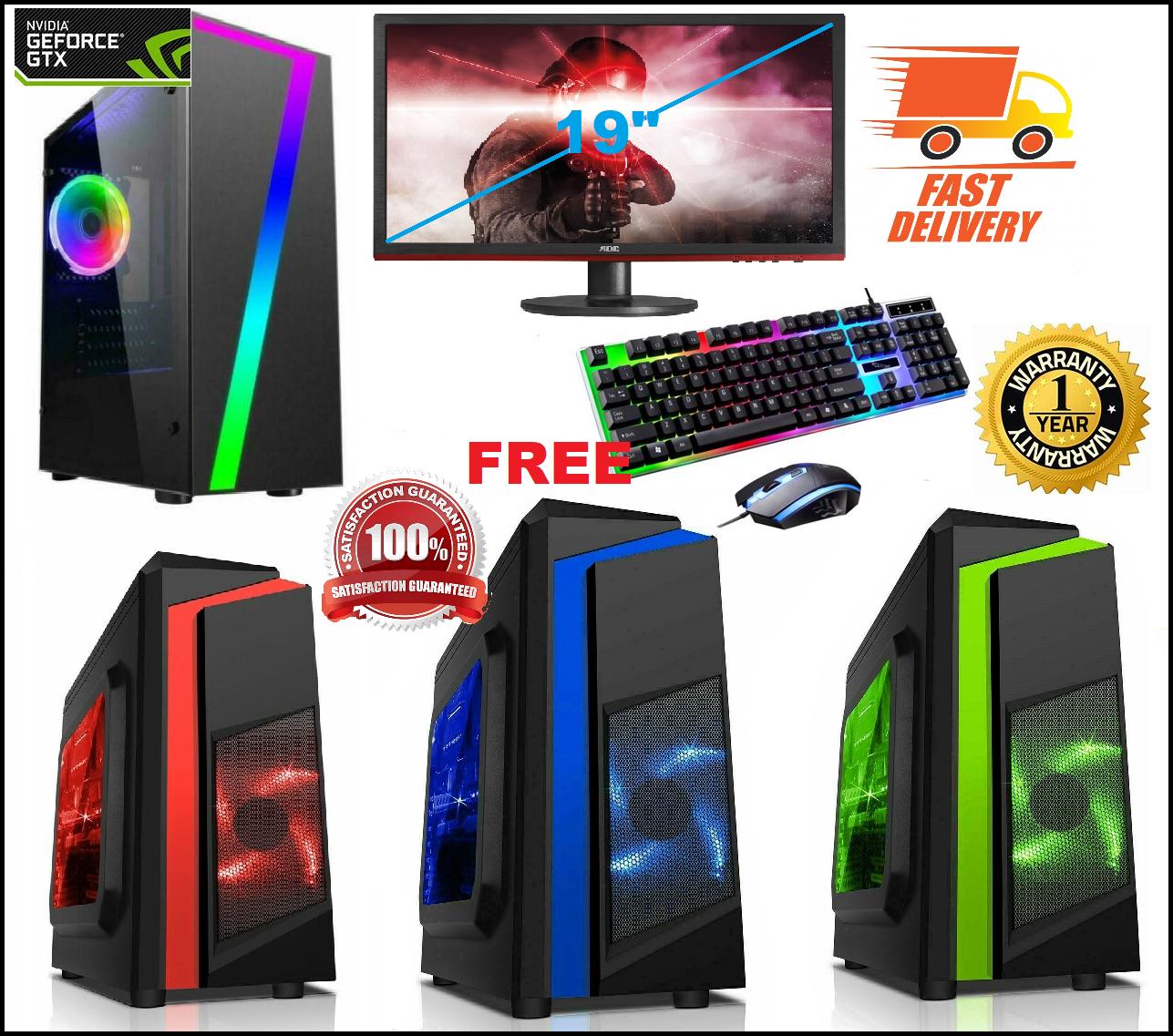 Computer Games - FAST Intel Core i5 Gaming PC Computer 8GB RAM 1TB HDD Windows 10 GT 710 2GB WiFi